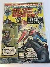 Kid Colt Gunslinger Apache Kid - The Great Train Robbery. Marvel comic #21. D31