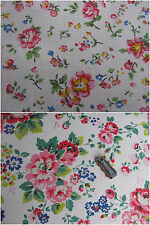 CAth Kidston bundle 2 * 25cm square bramley sprig & large spray flowers new