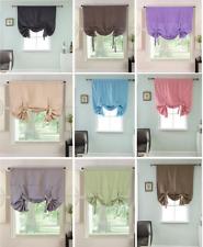 "Linen Blinds 59"" Wide or 87"" Wide Net Curtains & Slot Top Linen Panels HAND MADE"