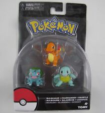 New Tomy Pokemon Collectors Figures Bulbasaur Charmander Squirtle In Stock