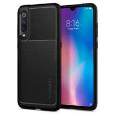 Xiaomi Mi 9 | Spigen® [Rugged Armor] Matte Black Slim Shockproof Cover Case