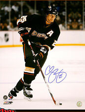 Chris Pronger SIGNED Ducks 8X10 Photo -70411
