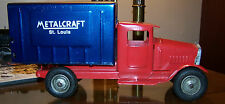 Metalcraft St. Louis Logo Delivery Truck Restored 11 inches