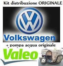KIT DISTRIBUZIONE ORIGI + POMPA ACQUA VALEO GOLF V 5 AUDI A3 TOURAN LEON 1.9 TDI