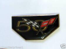 Corvette 50th Anniversary Lapel Pin,  2003 Collector pin , (**)