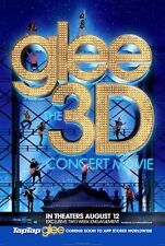 GLEE - THE 2011 3-D CONCERT MOVIE - orig D/S 27x40 movie poster - DIANNA AGRON