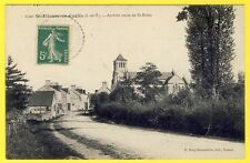 cpa RARE 35 - St ETIENNE en COGLES (Ille et Vilaine) Arrivée route de St Brice
