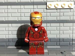 Lego Marvel Avengers Iron Man Minifigure Mark 7 Armor (6869) sh036