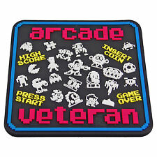 RETRO GAMES COASTERS - Drinks Place Mat - Mario Pac Man Arcade Veteran NES GAMER