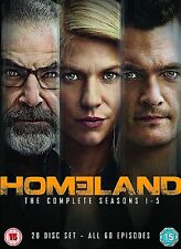 HOMELAND COMPLETE COLLECTION SERIES 1-5 DVD SEASON 1 2 3 4 5 Original UK Release
