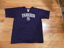 NY Yankees MLB Genuine Merchandise T-Shirt. Color Blue. NWT YOUTH XL