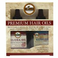 Difeel Premium Natural Hair Oil- Jojoba Oil & Kendi Oil 2.5oz 2PC SET