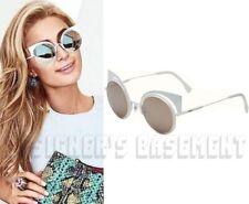 0461c925ea5 FENDI white EYESHINE mirror lenses FF0177 S cat eye Sunglasses NWT Authentc   605