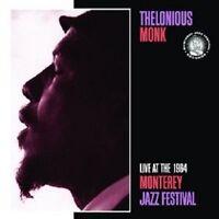 THELONIOUS MONK - LIVE AT THE 1964 MONTEREY JAZZ FESTIVAL  CD NEU