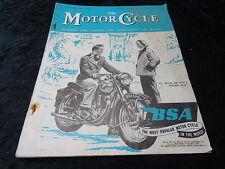The Motor Cycle Magazine - 25 Feb 1954. BSA.