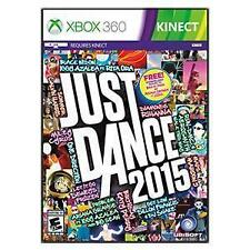 Just Dance 2015  Xbox 360 Kids Kinect Game Complete
