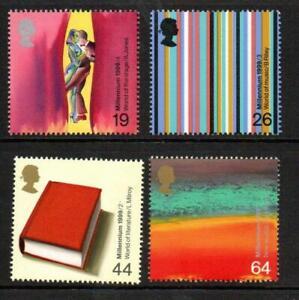 1999 Millennium Series ARTISTS TALE Mint Set MNH SG2119-2122 Unmounted