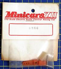 Minicars XII 1:12 Vintage Soporte de montaje Servo Cuerno Rojo 5266 modelado