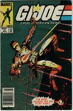 GI JOE #21 (Marvel 1983) G.I SILENT ISSUE 1st App STORM SHADOW Newsstand Variant