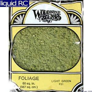 Woodland Scenics F51 Foliage Light Green