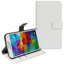 Unbranded/Generic Plain Leather Mobile Phone Cases, Covers & Skins for Samsung Galaxy S5