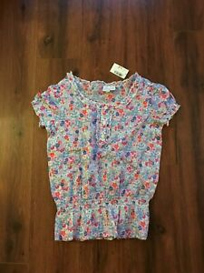 Girls SZ Medium 7/8 Short Sleeved Top by Children's Place (New with tags)