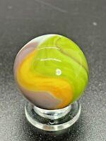 "Vitro Agate Parrot Marble Vitro 4 Color Parrot Shooter Marble 0.944"""