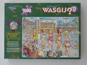 WASGIJ? DESTINY 9 Super Models! 1000 piece jigsaw puzzle by Graham Thompson