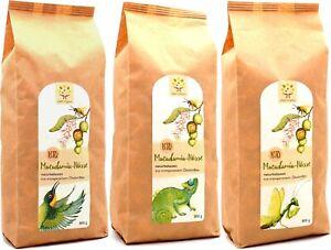 Bio-Macadamia-Nüsse (ohne Schale) 2,4kg (3x800g) aus kleinbäuerlichem Biolandbau