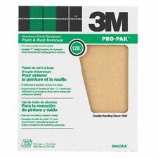 3M General Purpose Sandpaper. 120 Grit/Medium. 25 Sheets. 11 inch X 9 inch Sheet