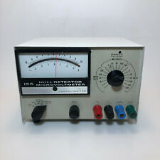 Keithley Instruments 155 Null Detector Microvoltmeter For Parts