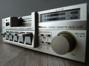platine cassette hi-fi compacte AIWA SD-L30 vintage stereo deck dolby metal 1982