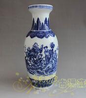 China old porcelain painting Blue and white vase