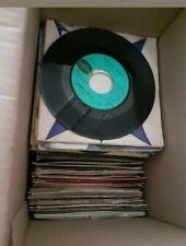 Lot de 100 disques vinyles 45tours divers