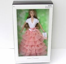 Birthday Wishes Barbie Doll 2005 Silver Label Barbie Collector NRFB