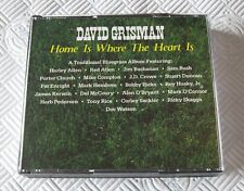 David Grisman - Home Is Where The Heart Is  - Scarce Mint 2 x Cd Album Bluegrass