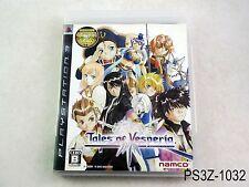 Tales of Vesperia Playstation 3 Japanese Import PS3 Japan Original US Seller A