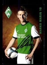 12 Autogrammkarten Werder Bremen 2009-10 Original Signiert+A 156875