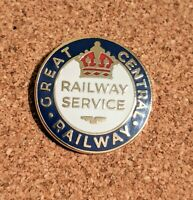 Great Central Railway Reproduction WW1 Railway Service Enamel Pin Badge
