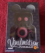"Disney 9"" Vinylmation Urban 4 Retired Series Pink Gears Nib Limited Edition 600"