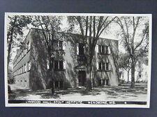 Menomonie Wisconsin Lynwood Hall Stout Institute Real Photo Postcard RPPC 1940s