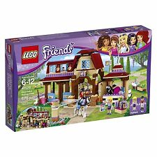 (NEW SEALED) FRIENDS LEGO 41126 HEARTLAKE HORSE RIDING CLUB GIRL PONY TOY BLOCKS