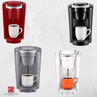 Keurig K-Compact Single-Serve K-Cup Pod Ground Brewer Coffee Maker Multicolor