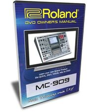 Roland MC-909 DVD Video Training Tutorial Help