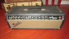 Vintage 1965 Blackface Fender Bandmaster Amplifier Head Sounds Amazing