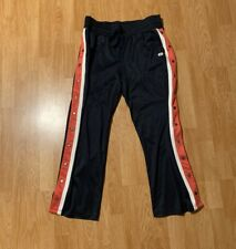 Abercrombie And Fitch Tear-Away Snap Buttons Track Pants Size Men's XL