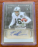 Tyrell Williams 2019 PANINI CHRONICLES DONRUSS SIGNATURE SERIES AUTO /99 RAIDERS