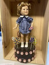 Shirley Temple Sing and Dance Porcelain Doll- Danbury