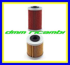 Kit 2 Filtri Olio motore HIFLO KTM 690 12>17 DUKE SMC R ENDURO RALLY FACTORY