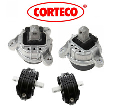 Engine Motor Mount + Transmission Mount Set 4pcs OEM Corteco BMW 528i 740i 3.0